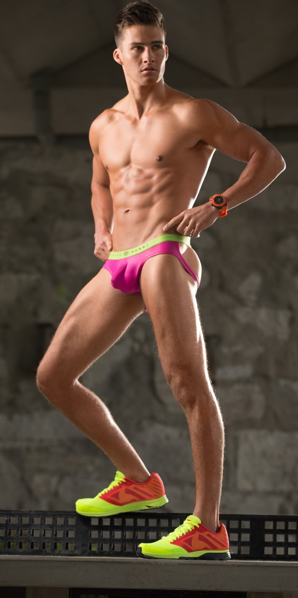 You might not look as ripped as this guy in the Heatwave Jock Strap, but you're guaranteed to feel damned fine. Hot even.