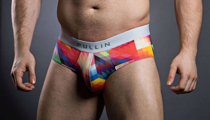 Super Bright Chaos Briefs From French Brand Pull In