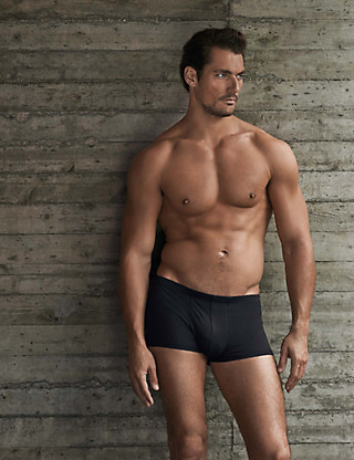 These are not just ANY boxers. These are M&S boxers. No, seriously. What happened to the saggy crotched y-fronts that turn grey in the wash?? Wouldn't catch old Dave here in any of those I'm sure!