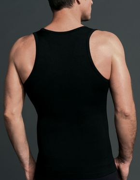 Cutaway shoulders make this more than underwear. The Equmen vest is a great standalone wardrobe staple for the summer season.