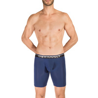 Obviously PrimeMan AnatoMAX Boxer Brief 9 inch Leg