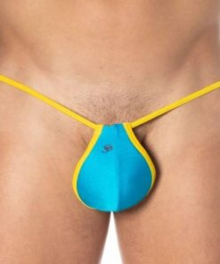 Joe Snyder Hilo Push Up G-String - Turquoise One Size