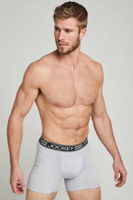 Men's Underwear Types - Man Wearing Boxer Shorts